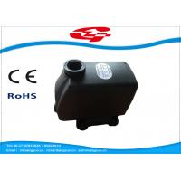 Quality High Power Solar Submersible Fountain Pump 4m Head 139*88*124mm Size for sale