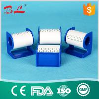 Quality Surgical  paper tape  white and skin colour with dispenser/cutter for sale