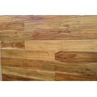 Quality Durable solid T& G hand scraped acacia hardwood flooring for sale