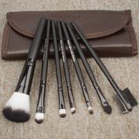 Quality Natural Goat Hair Makeup Brush Set Incredibly Soft Private Labels Accepted for sale