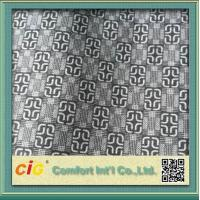 Quality Knitted Chinese Printing Auto Upholstery Fabric Grey  For Seat Cover / Lining for sale