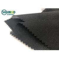 Quality Eco-friendly Double Dot Twill woven fusible interlinings for business casual suit  Fusing Interlining for sale