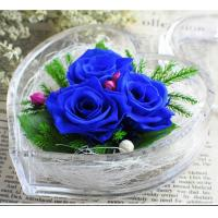 Buy Transparent Acrylic Storage Box Flower Container Gift Luxury Packaging Heart at wholesale prices