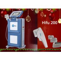 Buy cheap Painless Vertical to Skin Lift HIFU Machine , High Intensity Focused Ultrasound Machine from wholesalers