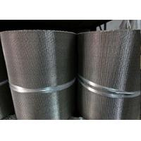Buy Long Security Wire Mesh Belt , Stainless Steel Flat Wire Conveyor Belt at wholesale prices