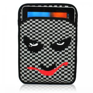 Quality Soft Lightweight Neoprene Ipad Sleeve Black For Ipad Air / Ipad Mini for sale