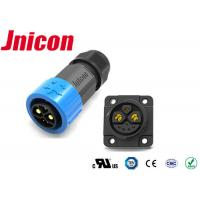 Quality High Current 30A/50A Waterproof Data Connector 5 Pin Push Lock Mating For Lithium Battery for sale