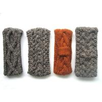 Quality Hand Knit Headbands, Crochet Neck Warmers, Knit Head Bands for sale
