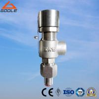 China A21 Type Spring loaded  low  lift external threaded/screwed type safety valve on sale