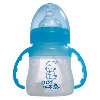 Small heat-resistant plastic Silicone Baby Bottle with SGS to end ...