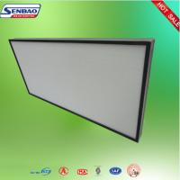 Quality Clean Room Air System Mini Pleated Industrial ULPA Hepa Air Filter for sale