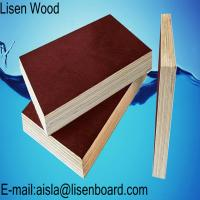 Quality 18mm black Film Faced Plywood / WBP phenolic concrete formwork plywood / Marine plywood construction boards price for sale