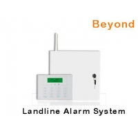 Quality LCD PSTN Metal Case Burglar Alarm System with 16 Wired zones 31 Wireless zones for sale