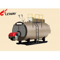 Quality Original Italy Burner Oil Fired Hot Water Boiler , Oil Fired Heating Boilers Large Heating Surface for sale