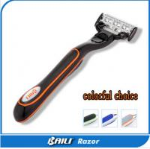 Quality Colorful handle Multi Blade Razor , men Personal care Five Bladed Razor for sale