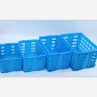 Quality heavy duty Plastic mesh crate for Frozen chicken for sale