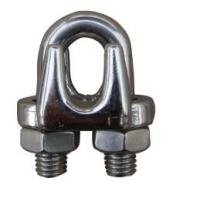 China stainless steel wire rope clip on sale