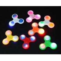 Buy cheap Promotion Gift Fidget Spinner Toy With LED Flash, Unique Switch Design,Avoid the Battery Lost, 50K Units Day Output product