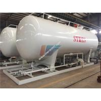 Quality Carbon Steel 40000 Liters 20MT LPG Gas Storage Tank Cooking Gas Filling Station for sale