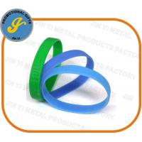 Quality Debossed/Embossed Silicone Wristbands for sale