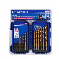 Buy cheap Titanium Coated HSS Drill Set from wholesalers