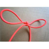 Red Wax Cotton Cord , Waxed Linen Cord Spandex Clothing Accessories