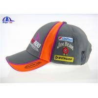 Quality Breathable Embroidery Baseball Cap , Washed Fashion Baseball Cap for Girl or Boy for sale