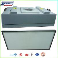 Quality High Efficiency HVAC Air Filters , Industial FFU Fan Filter Unit with H13 99.99% for sale