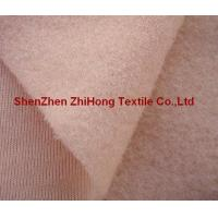 Quality Customized 80-220 gsm durable brushed Velcro loop /napped loop fastener fabric for sale