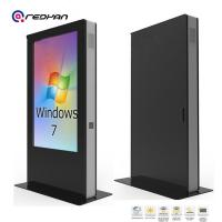 Quality 75 inch Outdoor High Brightness LCD Display in Bus Shelter,Retails and Call Kiosk for sale