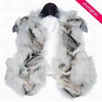 Buy cheap Blue Fox Leg Fur Vests product