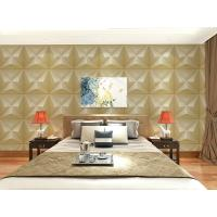 Quality Embossed Wall Surface 3D Textured Wall Panels Removable Wall Sticker for Living Room for sale