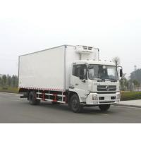 China 10-15 tons refrigerated refrigerator freezer cargo van truck for sale on sale