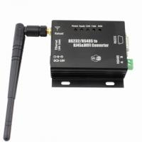 Buy cheap RS232 Wireless Serial Server Data Modules Transceiver , WiFi Serial Port Device Server product