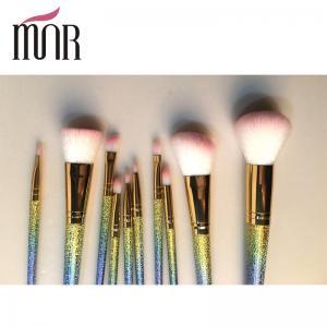 Buy cheap Fashion Professional Makeup Brush Set Beautiful Colorful Rainbow Ferrule product