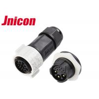 Quality Jnicon 9 Pin Female Waterproof Data Connector , IP67 3 Pin Auto Waterproof Connectors for sale