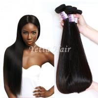 Quality Durable No Smell 100 Virgin Peruvian Straight Hair Weave Can Last a Long Time for sale