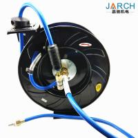 Black 900psi Air Retractable Hose Reel Low Pressure Automatic Expansion Pipe Type
