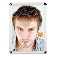 Buy cheap Wall Mounted Snap Poster Frames Display Aluminum Click Photo Frame product