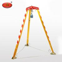 Quality Custom-made Aluminum Rescue Tripod with Electric Winch for sale