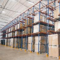 China Steel Q235 Material Drive In Racking System Heavy Duty Metal Shelving on sale