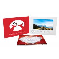 Buy cheap 1GB Memory A5 Custom Video Player Greeting Card With Rechargeable Li - Ion from wholesalers
