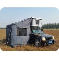 Buy single layer fiberglass Hard Shell Roof Top Tent at wholesale prices