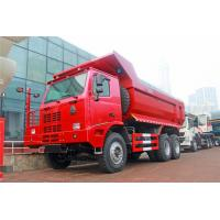 Quality Heavy - Duty Sinotruk Howo Load Dump Truck 6*4 / 30 Tons Tipper Truck for sale