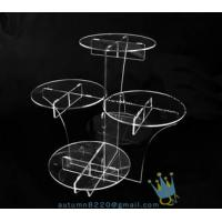 Quality CD (22) wedding cake stand crystal for sale