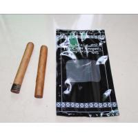Quality China factory price moisture proof plastic cigar packaging bag/Diameter 6mm hang hole to display / show your cigars for sale
