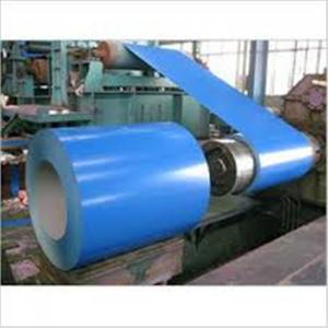 Color Coated Painted Steel Coil Corrosion Resistance EN10327 DX51D+AZ