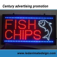 China Outdoor led sign on sale
