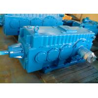 Quality Compact Modular Bevel Helical GMC Gearbox / Heavy Duty Speed Reducer for sale