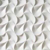 Quality Pop Sale Lowes Price Wave Pattern 3D Wall Decor Panels 3D Board For Bathroom for sale
